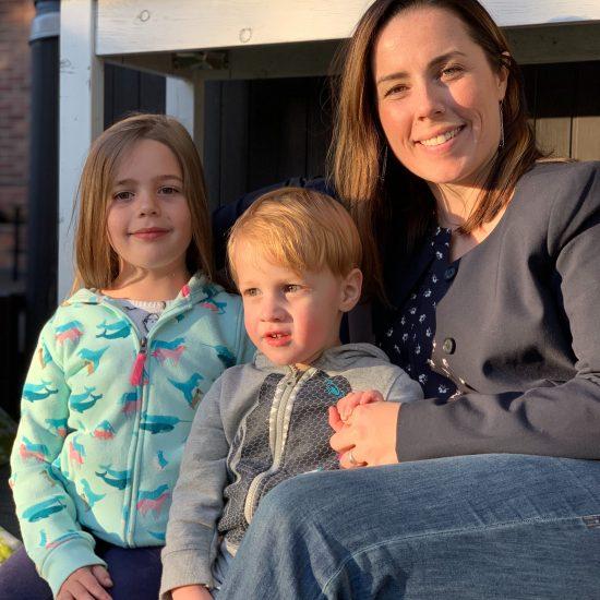 Lindsey and Walenga kids
