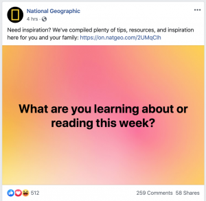 social media national geographic